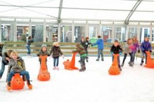 Oisterwijk on Ice, de IJsbaan in Oisterwijk